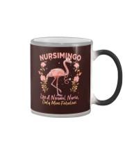 Not Like A Normal Nurse Color Changing Mug tile