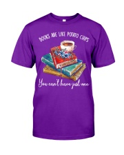 Books Are Like Classic T-Shirt front