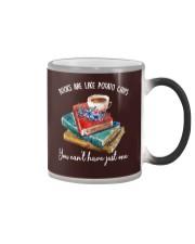 Books Are Like Color Changing Mug tile
