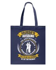 Nurse's Husband Tote Bag tile
