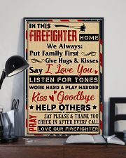 Love Our Firefighter 11x17 Poster lifestyle-poster-2