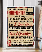 Love Our Firefighter 11x17 Poster lifestyle-poster-4
