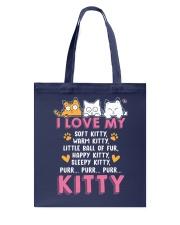 Love My Cat Tote Bag tile