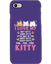 Love My Cat Phone Case tile