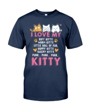Love My Cat Classic T-Shirt front