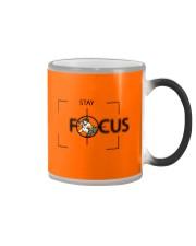 Stay Focus Color Changing Mug tile
