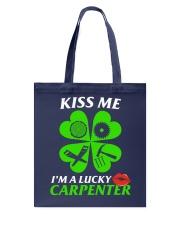 Kiss Carpenter Tote Bag tile