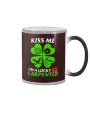Kiss Carpenter Color Changing Mug tile