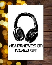 Headphones On 11x17 Poster aos-poster-portrait-11x17-lifestyle-24