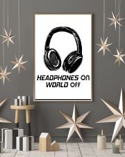 Headphones On 11x17 Poster lifestyle-holiday-poster-1