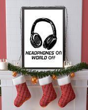 Headphones On 11x17 Poster lifestyle-holiday-poster-4