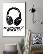 Headphones On 11x17 Poster lifestyle-poster-1