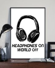 Headphones On 11x17 Poster lifestyle-poster-2