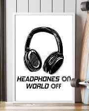 Headphones On 11x17 Poster lifestyle-poster-4