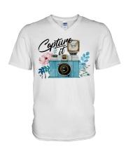 Capturing It V-Neck T-Shirt tile