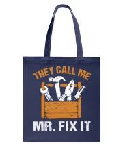 Mr Fix It Tote Bag tile