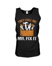 Mr Fix It Unisex Tank tile