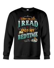 I Read Past My Bedtime Crewneck Sweatshirt tile