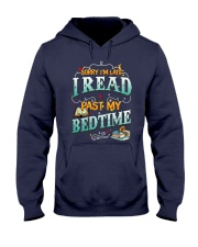 I Read Past My Bedtime Hooded Sweatshirt tile