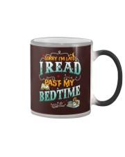 I Read Past My Bedtime Color Changing Mug tile