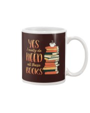 Needs All These Books Mug tile