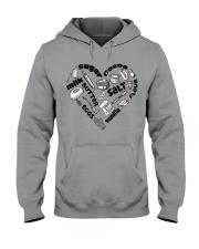 Heart Hooded Sweatshirt tile