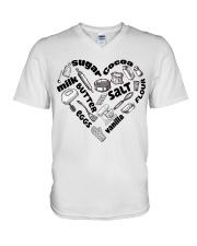 Heart V-Neck T-Shirt tile