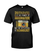 The Power Of Observation Classic T-Shirt front