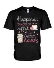 Happiness V-Neck T-Shirt tile
