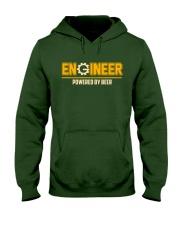 Powered By Beer Hooded Sweatshirt front