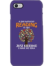 A Day Without Reading Phone Case tile