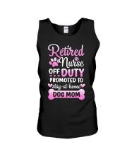 Promoted To Dog Mom Unisex Tank tile