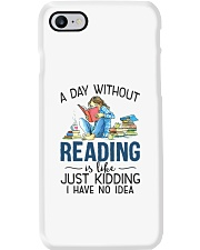 A Day Without Books Phone Case tile