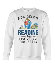 A Day Without Books Crewneck Sweatshirt tile