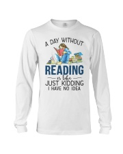 A Day Without Books Long Sleeve Tee tile