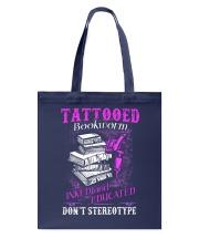 Tattoo Bookworm  Tote Bag tile
