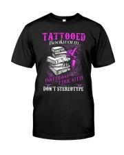 Tattoo Bookworm  Classic T-Shirt front