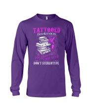 Tattoo Bookworm  Long Sleeve Tee tile