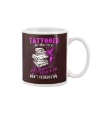 Tattoo Bookworm  Mug tile