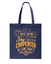 I Hate Being Sexy Tote Bag tile