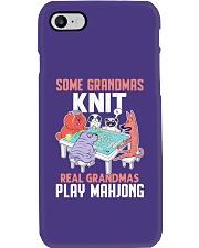 Real Grandmas Play Mahjong Phone Case tile