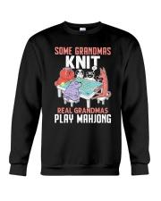 Real Grandmas Play Mahjong Crewneck Sweatshirt tile