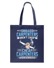 Skilled Carpenter Tote Bag tile