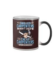 Skilled Carpenter Color Changing Mug tile