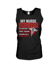 My Nurse Daughter Unisex Tank tile
