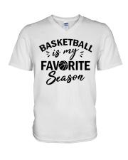 Favorite Season V-Neck T-Shirt tile