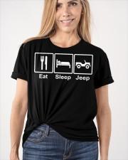 EAT SLEEP J33p Classic T-Shirt apparel-classic-tshirt-lifestyle-front-101