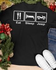EAT SLEEP J33p Classic T-Shirt apparel-classic-tshirt-lifestyle-front-82