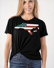 North Carolina Off road flag Classic T-Shirt apparel-classic-tshirt-lifestyle-front-101