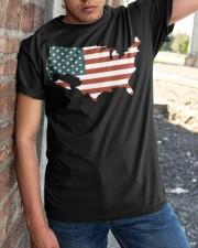 USA Flag Classic T-Shirt apparel-classic-tshirt-lifestyle-27